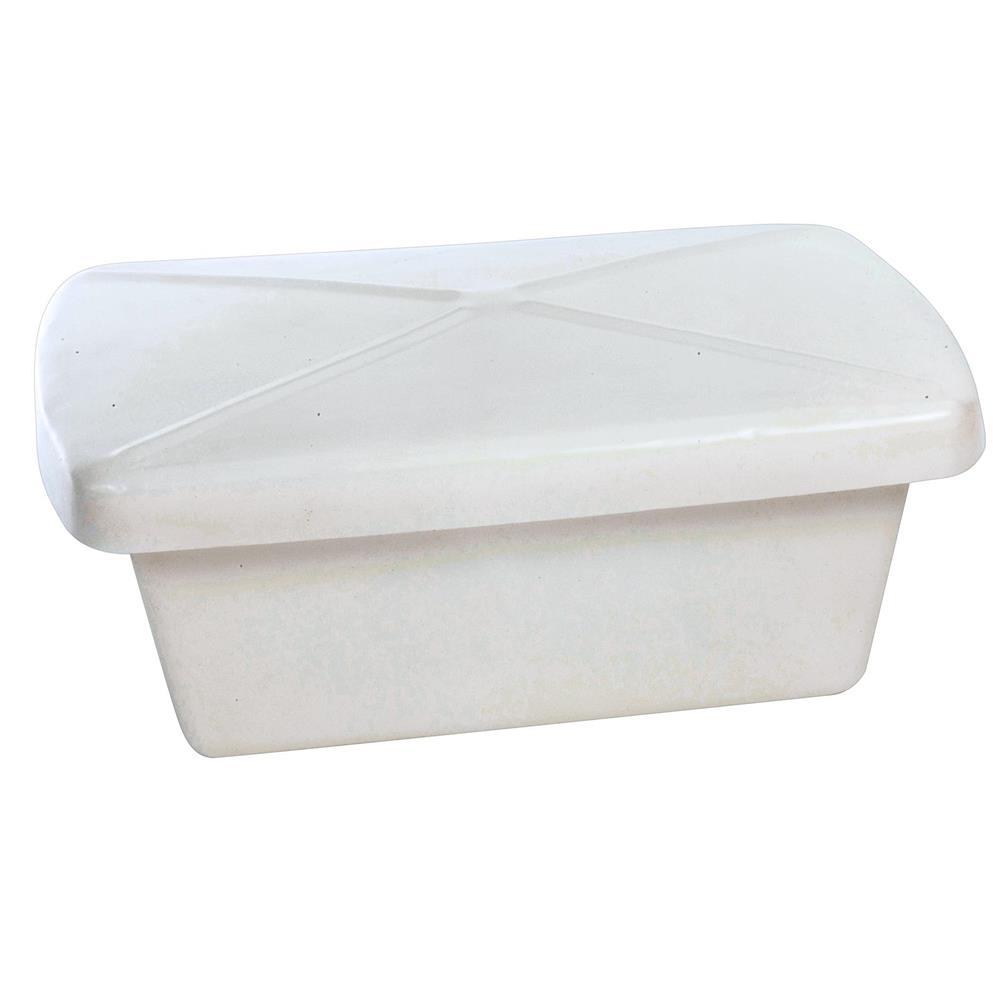 Bac alimentaire plein 36 l avec couvercle tom press - Bac plastique avec couvercle ...