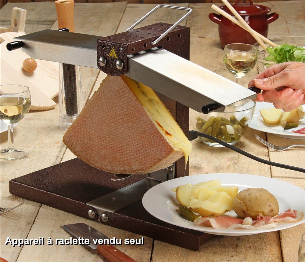 appareil à raclette 2 rampes - tom press