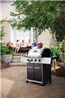 Barbecue à gaz inox 4 feux