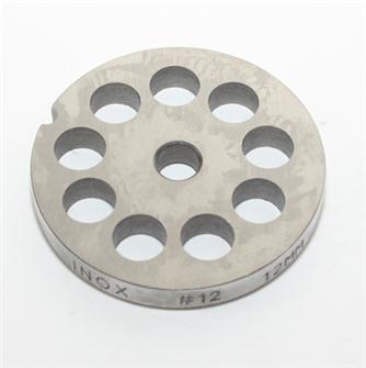 Grille inox 12 mm pour hachoir n°12