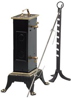 Tournebroche électrique 30 + 8 kilos, écart 18 cm