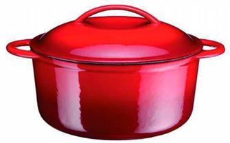 Cocotte en fonte ronde 27 cm 6 litres