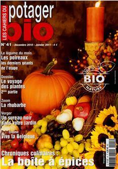 Les cahiers du potager bio n°41