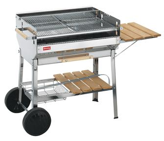 Barbecue inox grande grille