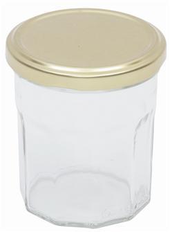 Pots de confiture 370 g. par 15 livrés avec capsules