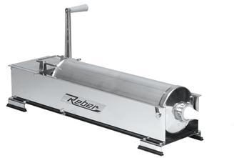 Poussoir à viande horizontal 12 litres inox Tom Press par Reber