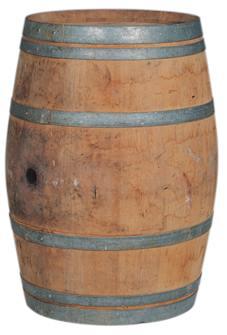 Tonneau chêne d'occasion 225 litres
