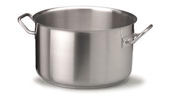 Faitout inox induction 40 cm 31,4 litres