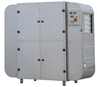 Déshydrateur professionnel 72 plateaux 25 m² inox triphasé 5 200 W