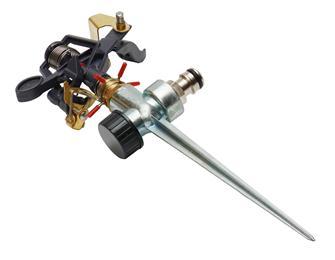 Arroseur canon sur pique en métal