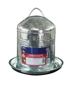 Abreuvoir volailles galva 10 litres