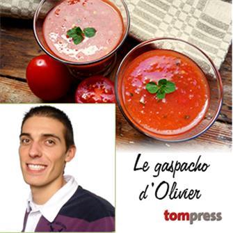 Recette du gaspacho par Olivier