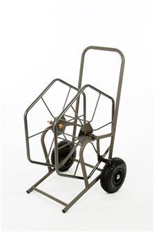Dévidoir enrouleur d´arrosage grand modèle 200 m professionnel autostable