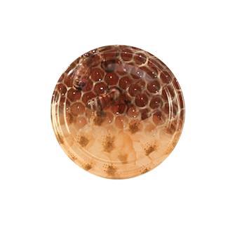 Capsules Twist-off miel alvéoles fleurs 63 mm par 10