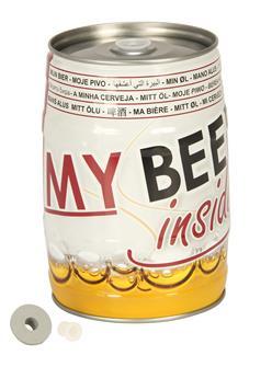 Fût à bière pression vide 5 litres