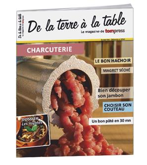 Tom Press Magazine spécial Charcuterie 2014