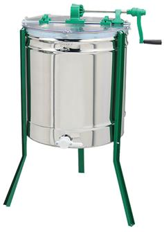Extracteur de miel manuel radiaire 9 cadres