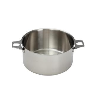 Casserole inox 16 cm sans queue