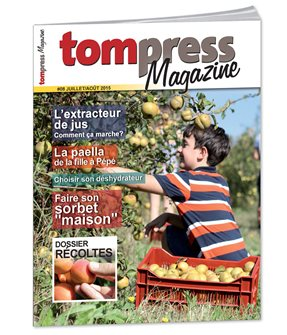 Tom Press Magazine juillet-août 2015