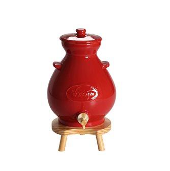 Vinaigrier en grès rouge 4,5 litres