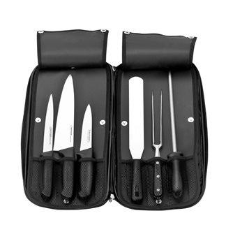 Pochette 20 pièces dont 10 couteaux pour cuisine et hotellerie