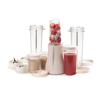 Mixer blender avec 2 gobelets 300 ml, 2 gobelets 150 ml, 2 gobelets 450 ml