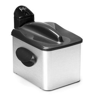 Friteuse 3 200 W cuve inox 3,5 litres 1 kg de frites corps aluminium