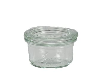 Mini Bocaux Weck 50 ml par 12