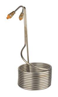 Refroidisseur de moût à serpentin inox