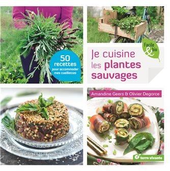 Livre Je cuisine les plantes sauvages
