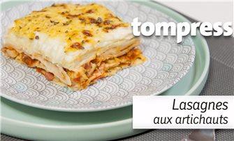 Lasagnes aux artichauts - fabrication de la pâte et des lasagnes