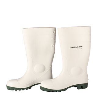 Bottes blanches de sécurité taille 40 Dunlop