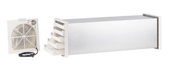 Déshydrateur séchoir tunnel inox à thermostat 10 plateaux plastique