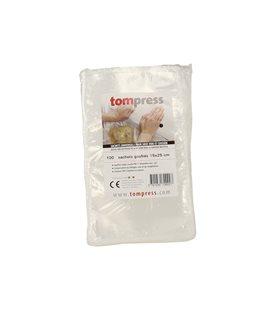 Sachets pour sous-vide Tom Press 15x25 cm par 100