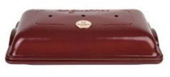 Moule 3 baguettes en céramique rouge Cuivre Emile Henry