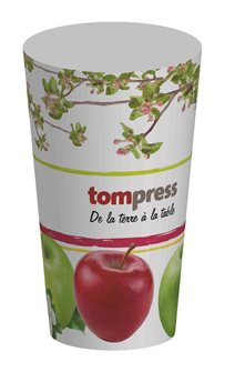 Gobelet réutilisable Tom Press motif pomme