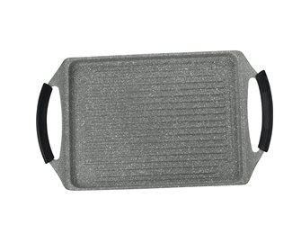 Gril 47x29 cm aluminium revêtement pierre