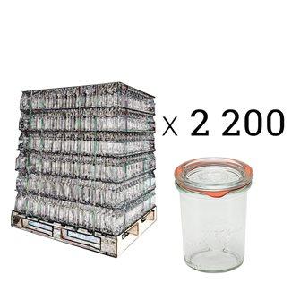 Verrines Weck 160 ml par palette de 2200