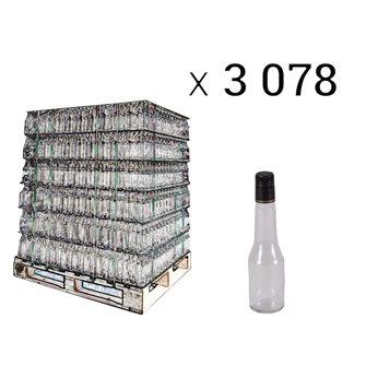 Bouteilles à sirop 25 cl par palette de 3078