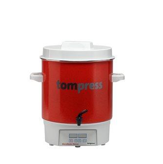 Stérilisateur émaillé digital avec robinet Tom Press pince à bocaux OFFERTE