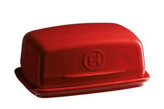 Beurrier en céramique rouge Grand Cru Emile Henry