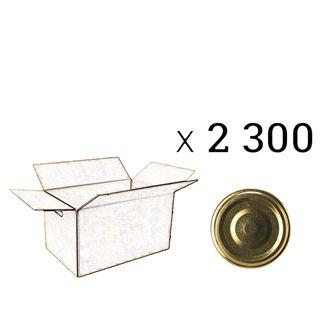 Carton de 2300 capsules de 48 mm