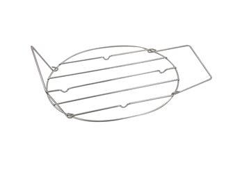 Grille inox pour daubière avec poignées