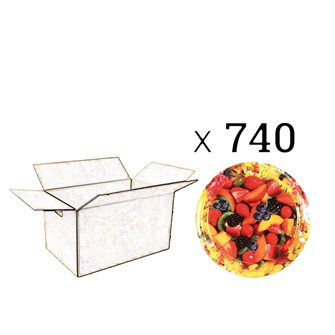 Capsules Twist-off confiture fleurs et fruits diam. 82 par 740