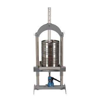 Pressoir à fruits hydraulique 18 litres en inox