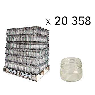 Petit pot 30 ml pour gelée royale... par palette de 20358 pièces