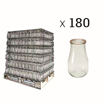 Bocal Weck 2.7 l par palette de 180