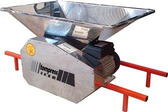 Broyeur à pomme éléctrique inox Tom Press 90x60