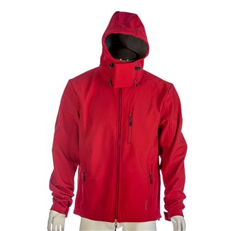 Blouson polaire rouge Bartavel Dakota technique Softshell 3XL