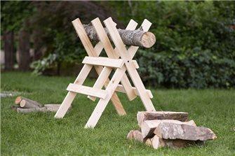 Chevalet De Sciage Métal Chevalet de sciage pour tronçonneuse bock bois de cheminée Scie